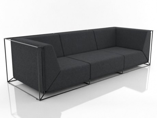 Floating Sofa 3d Model Comforty Poland