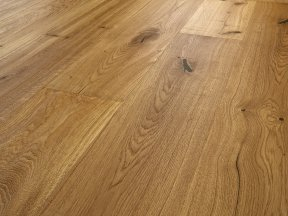 Distressed Rustic Solid Oak Flooring