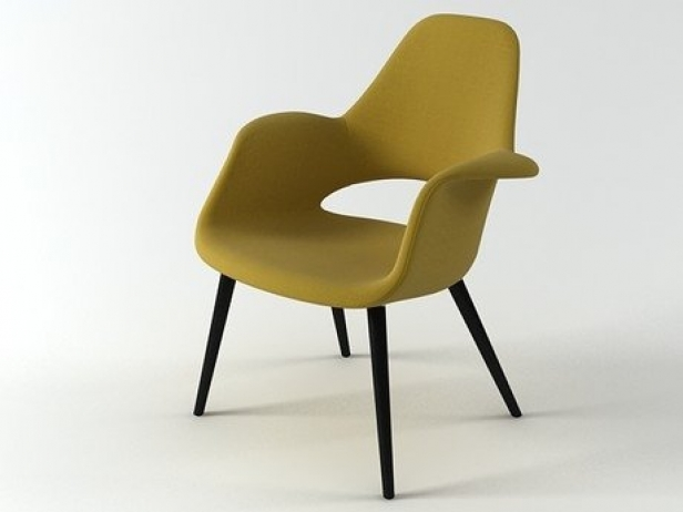 Organic Chair 3d model Vitra