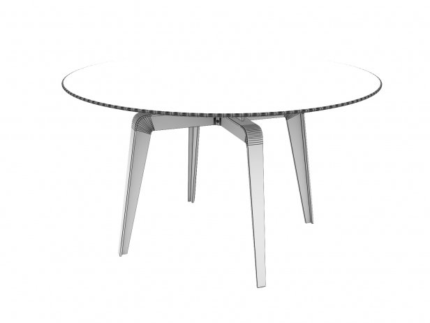 Odessa Dining Table 130 4