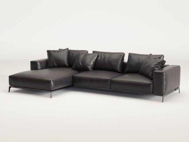 Ettore Corner Sofa 4