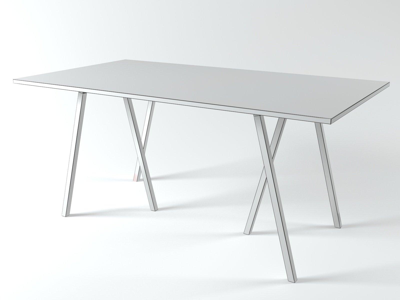 loop stand table 3d model hay. Black Bedroom Furniture Sets. Home Design Ideas