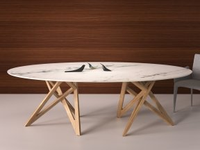 Ennea Oval Dining Table