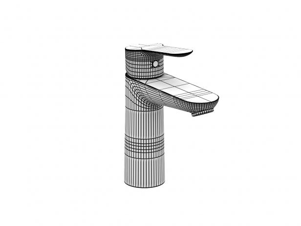 Bau Wall-hung Basin 45 Set 8