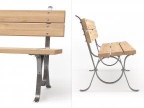 Lita Outdoor Bench