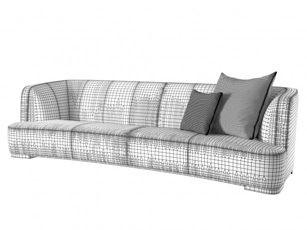 Francis 312 4-Seater Sofa 5