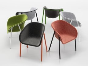 LJ 1 PET Felt Armchair