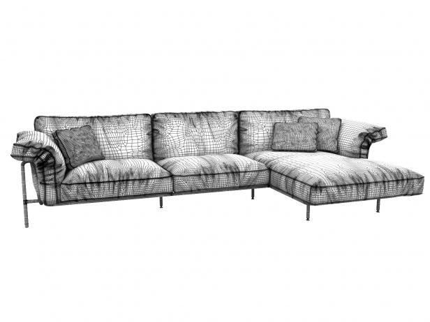 DS-610 Corner Sofa 10