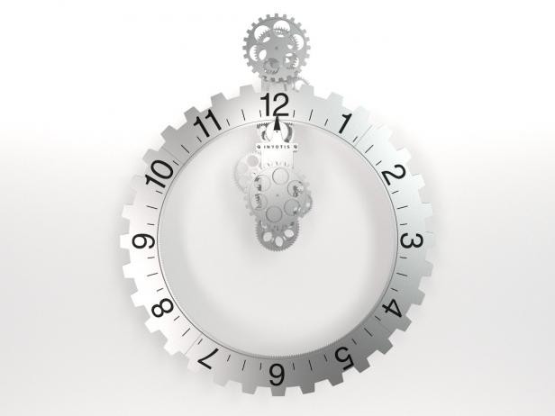 Big hour wheel clock 3