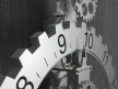 Big hour wheel clock 4