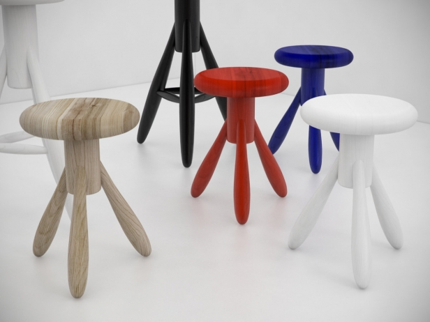 Baby Rocket stool 3