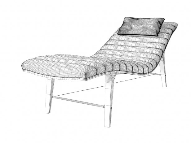 Listen To Me Chaise, Model 4873 4