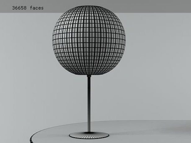 Nelson Bubble Lamp - Ball Table 4