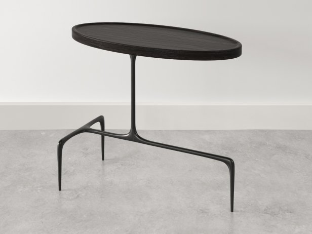 Bridger Oval Side Table 4