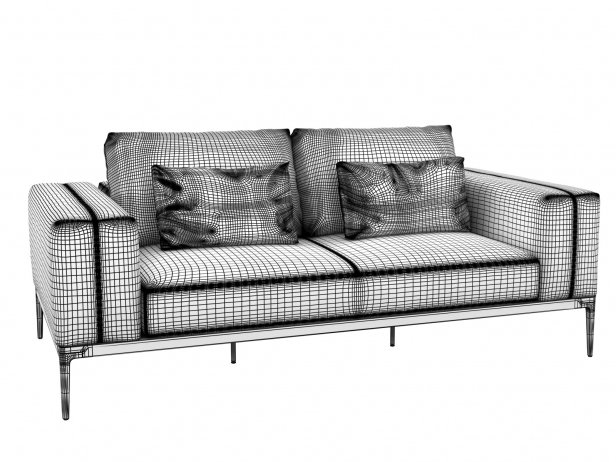 Outdoor 2-Seater Sofa 4