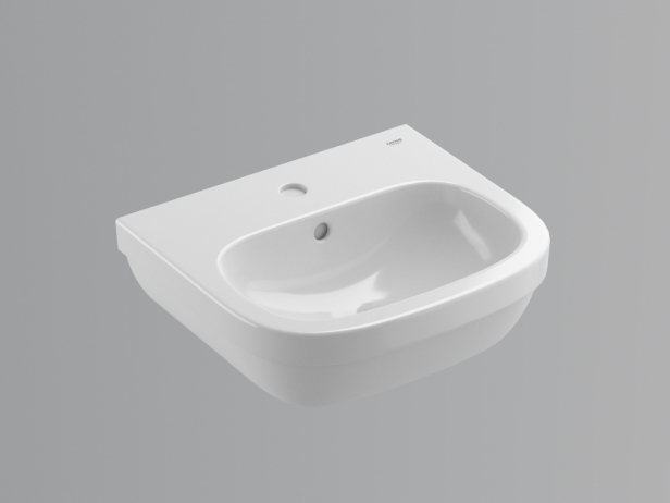 Euro Wall-hung Basin 45 Set 5