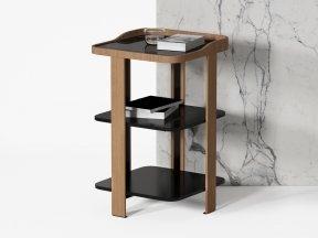 Postmoderne Bedside Table