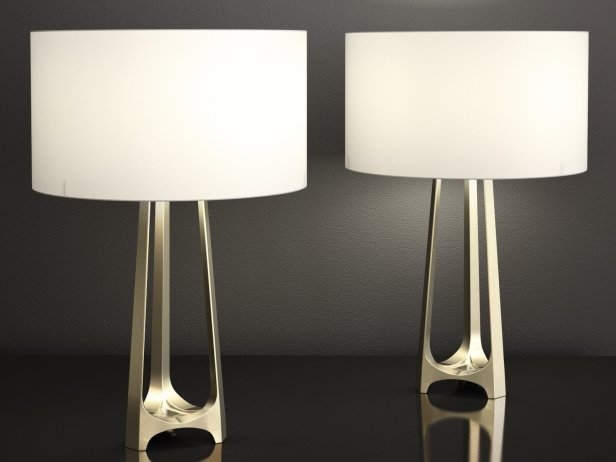 Iron eye table lamp 1