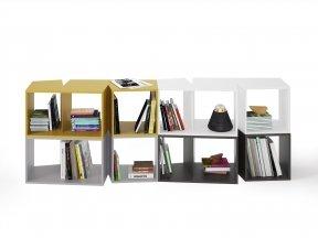Cuts Bookshelf Composition 2