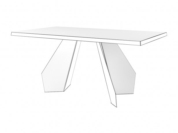 Origami 160 & 200 Dining Table 4