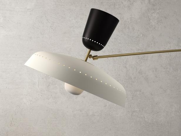 French Balancier Wall Lamp 4