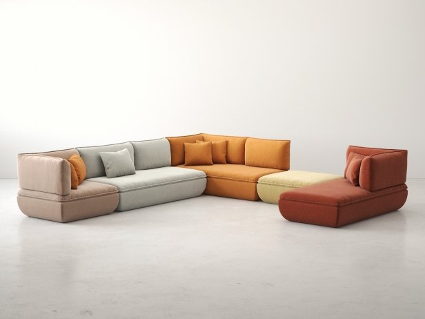 Mimic Modular Sofa Comp H 1