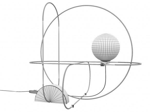 Setareh 4401 Table Lamp 4