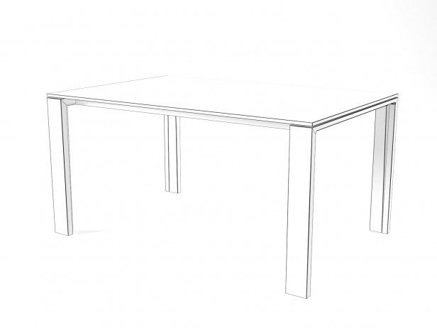 Naia Extendable Dining Table 9