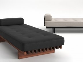 DS-80/791 Daybed with Armrest Outdoor