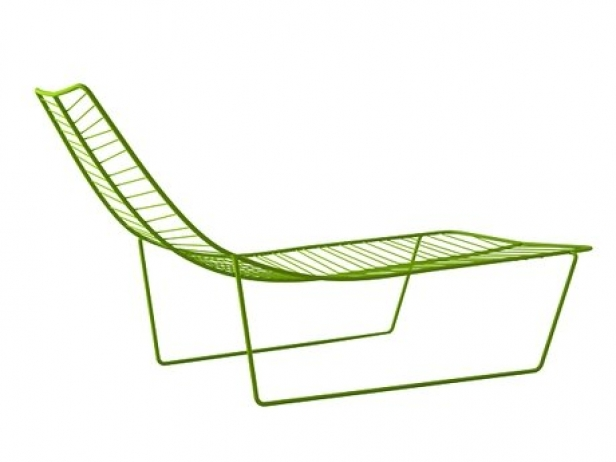 Leaf lounge chair 3d model arper for Arper leaf chaise lounge