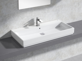 Cube Countertop Basin 100 Set