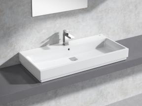 Cube Countertop Basin 100 Set