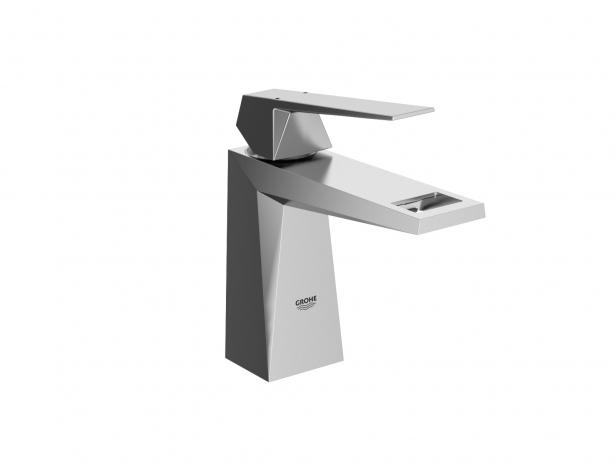Cube Countertop Basin 50 Set 4