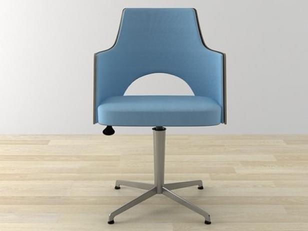 Cortina Easy Chair 3d model Lammhults Mobel