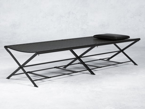 Folding Camp Bed 2