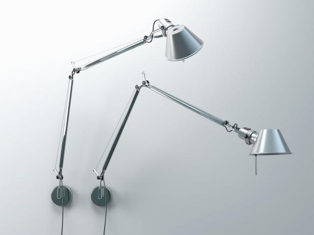 Tolomeo Parete 3d model   Artemide -> Lampada Artemide Tolomeo Parete