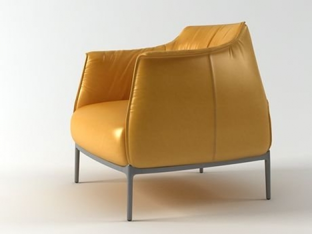 Archibald armchair 3D-Modell | Poltrona Frau