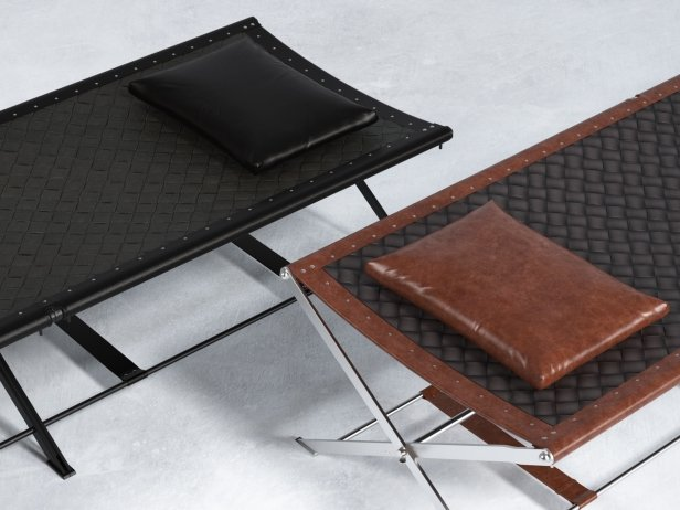 Folding Camp Bed 1