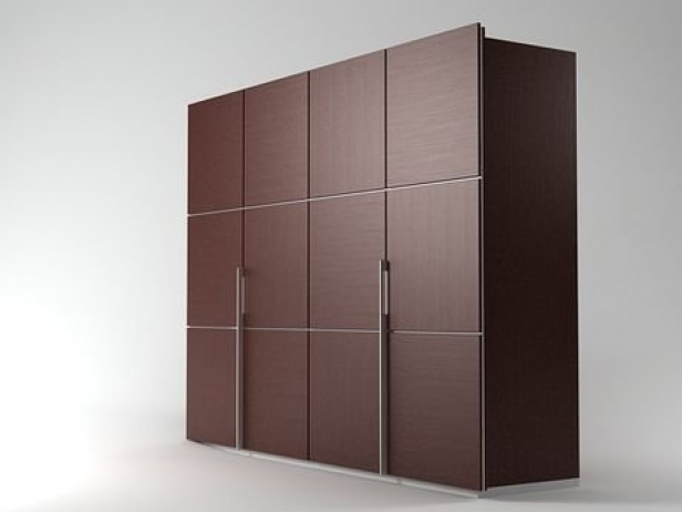 lumeo wardrobe 3d model ligne roset. Black Bedroom Furniture Sets. Home Design Ideas