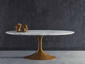 Aero Marble Dining Table