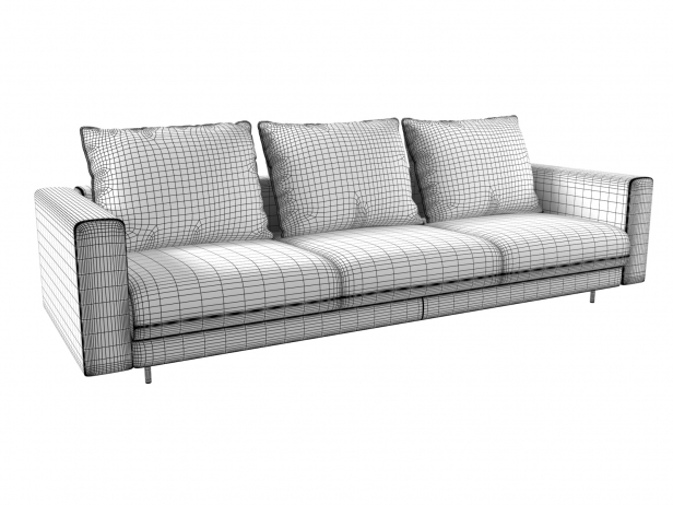 Enki 3-Seater Sofa 8