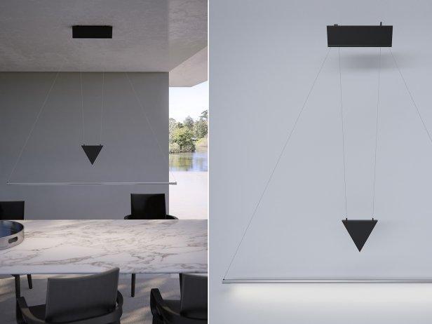 Filum USM Pendant Light and Illuminated Cabinet 3
