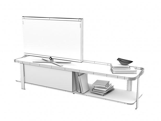 Postmoderne TV Cabinet 4