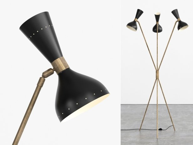 Tripod Floor Lamp 3d Model Stilnovo