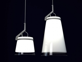GlassGlass Pendant lamp