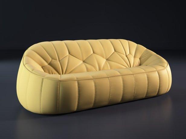 Ottoman 3-Seater Sofa 3