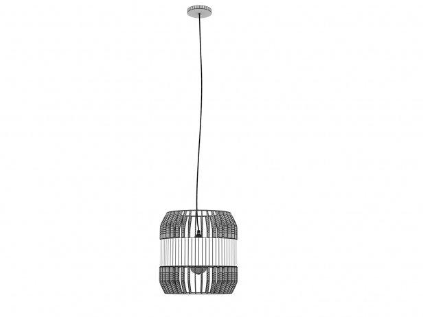 Lath Pendant Lamp 6