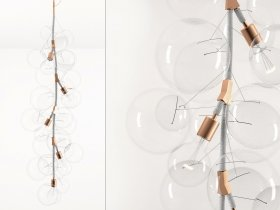 X-Tall Bubble Chandelier