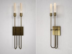 Lisse 2 Light Sconce